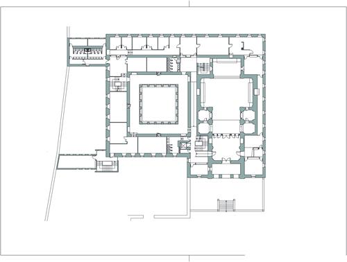 Colegio de trinitarios biblioteca instituto benjamin for Planta arquitectonica biblioteca